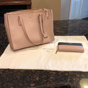 "Kate Spade Cameron Street ""Zooey"" and Wallet"